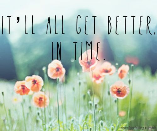 no matter how much you care or how alone you feel..time is all you need. Give it a few days, a few weeks, a month...before you know it, you'll find yourself looking on the situation and smiling because the hurt isn't that bad anymore :)