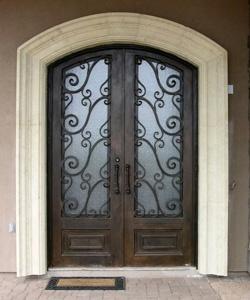 Wrought Iron Double Door 5.0 X 8.0 ($3000.00)