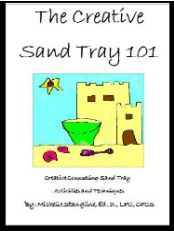How to use a sand tray as a therapy technique...great if the kids made their own, could be a couple week project. Add a dish for water and we could call it our emotional oasis!