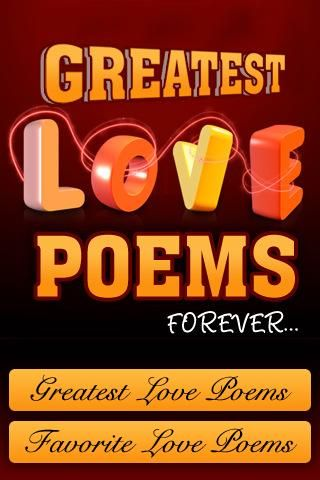 Make you #valentine feel special with Greatest #Love #Poems - https://play.google.com/store/apps/details?id=com.mobyi.lovePoemsForever