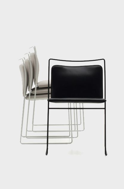 tulu stacking chair cassina
