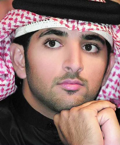 beautiful men | Most handsome Emeriti man – Sheikh Mohammeds son Hamdan (Fazza).