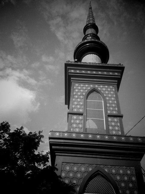 Tower of blue Mosque, Bogor