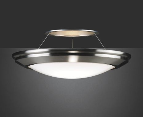 The look of a decorative bowl with the heart of a downlight.  TMS Lighting's Keria 8.