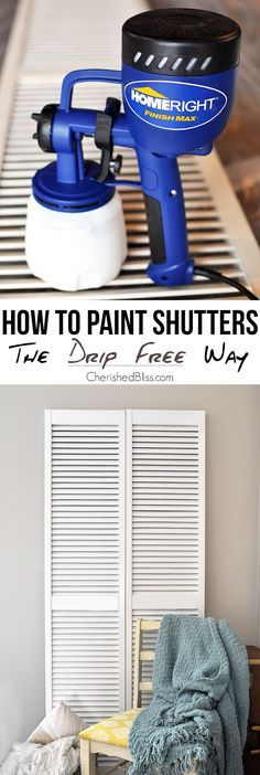 Of painting shutters learn how to paint shutters without any drips