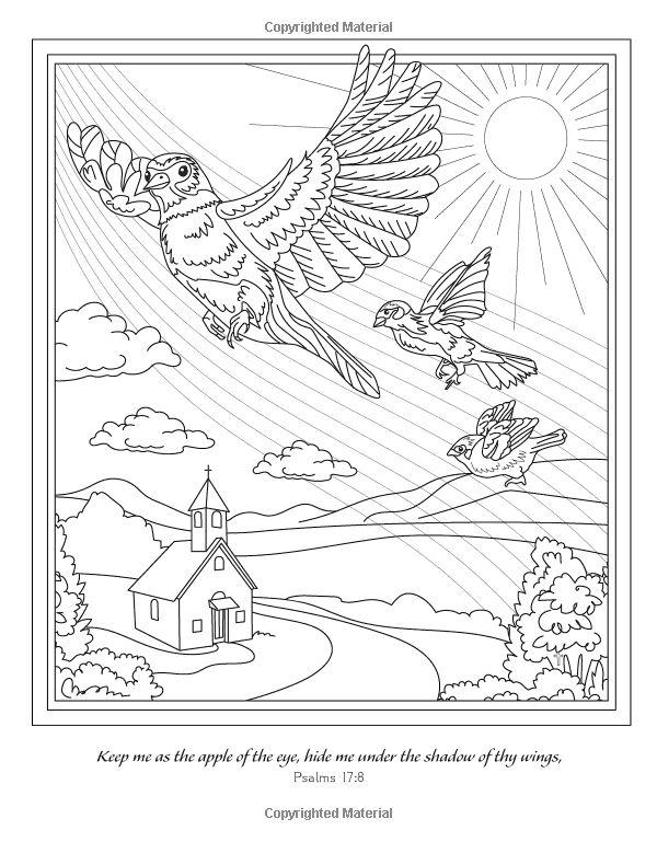 Family Blessings A Meditative Christian Coloring Book Devotional Pamela Thayer