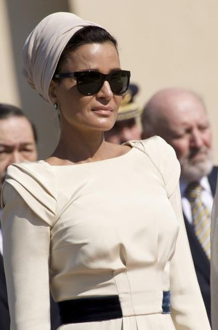 HH Sheikha Mozah aka one of the most fashionable women in the world, aka one of my biggest muses!