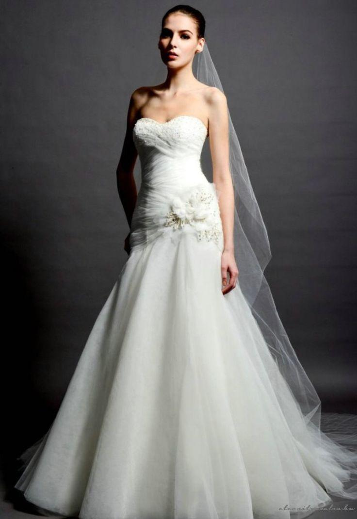Jane White tüll menyasszonyi ruha