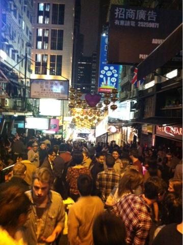 nightlife #HK #Lan Kwai Fung