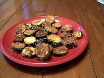 Oven fried zucchini is a delicious way to enjoy a bumper crop of zucchini. And this zucchini dish goes well with everything from chicken to fish to burgers.