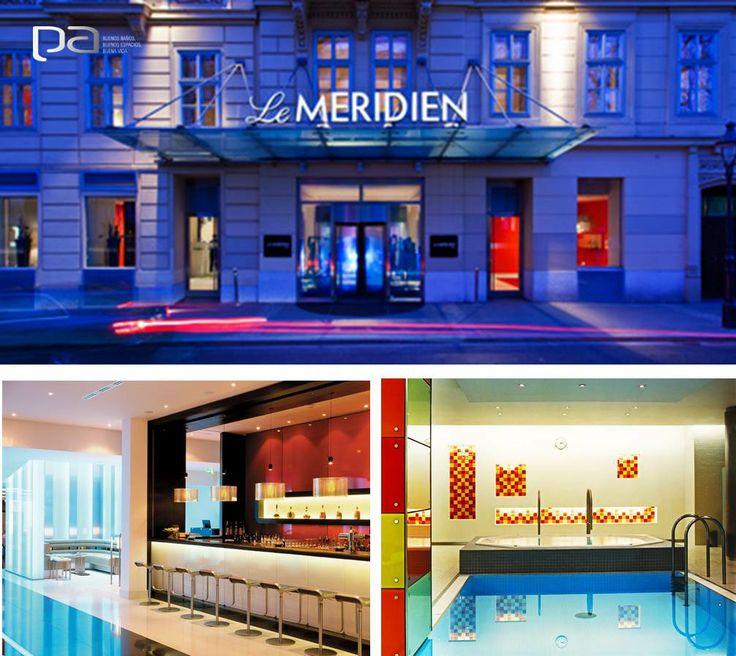 Grandes diseños para los mejores proyectos  La calidad de los productos se ve reflejada en los proyectos para los que son elegidos. El hotel Le Meridien en Viena, Austria, cuenta con los baños de la marca Laufen, exclusiva en Productos Arquitectónicos.  Conoce más en www.p-a.com.co