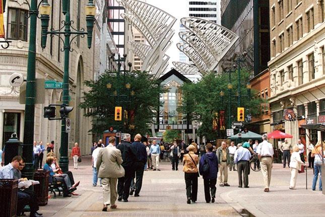 Stephen Avenue, Calgary.