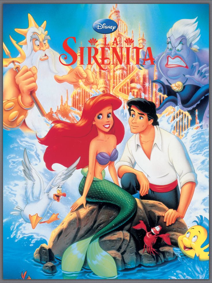 0751 Forever: Cómic La sirenita (1989)