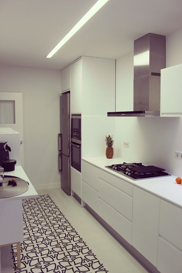 Proyecto de interiorismo dise o y reforma para la cocina for Aran world kitchen cabinets