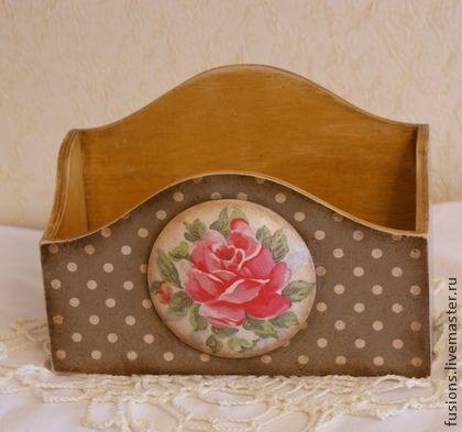 Короб для бумаг `Romance`.