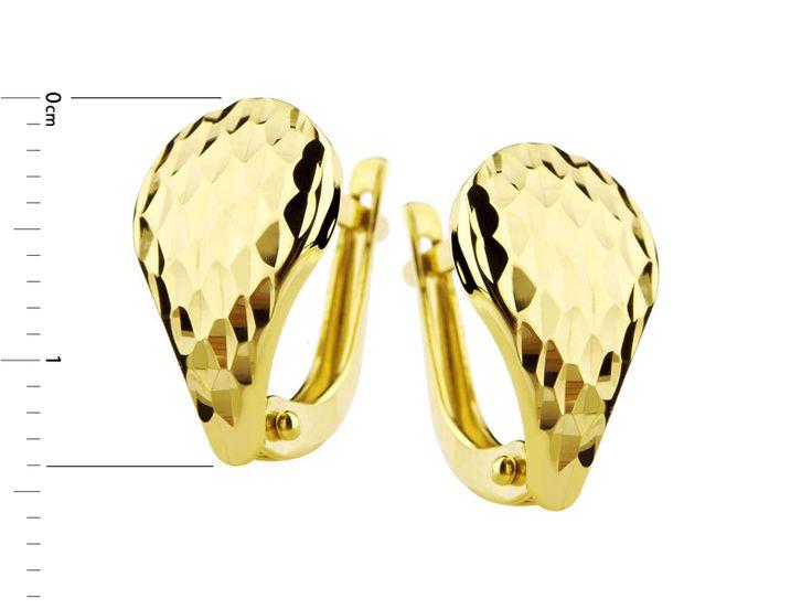 Złote kolczyki - wzór AP120-7628 / Apart