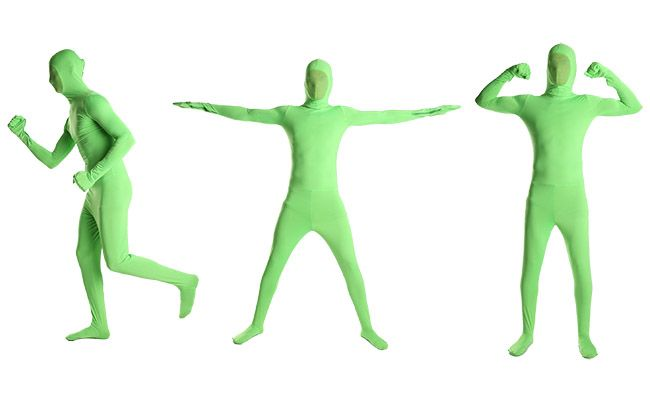 Every studio needs a Green Screen Suit!