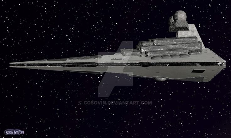 3 Star Wars - Star Destroyer by cosovin.deviantart.com on @DeviantArt