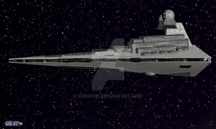 3 Star Wars - Star Destroyer by cosovin.deviantart.com on @DeviantArt