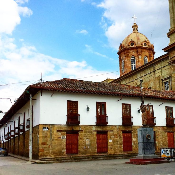 Centro histórico del Socorro Santander Colombia