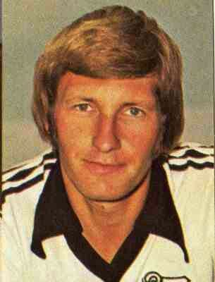 Colin Todd of Derby County in 1977.