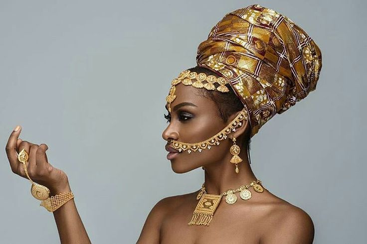 Via @empressivefinds - The philosophy is very simple; You keep your headwraps high, and your heads even higher. In every woman is a #Goddess waiting to be unleashed…… __ #Photographer :...