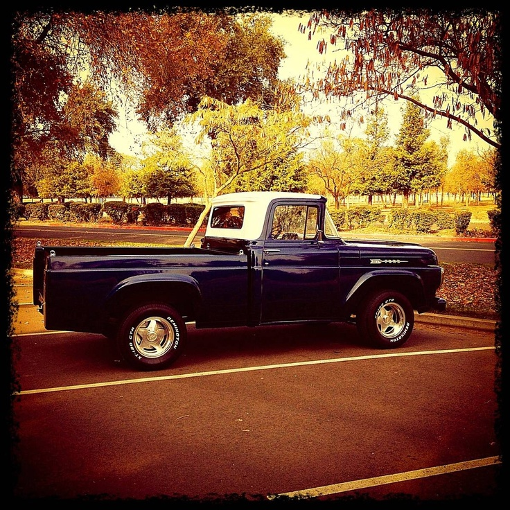 1960 Best 50's & 60's And Older Ford Trucks Images On