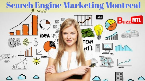 Let's imagine you have high in-demand product or service and you have already setup a perfect online business with an attractive, easy to use website, But does anybody even know about your site? At Buzz Mtl, we focus on intelligent search engine optimization strategies that will get your business ranked higher in major search engines,for more information see-https://youtu.be/Sxq0DIkDBIQ