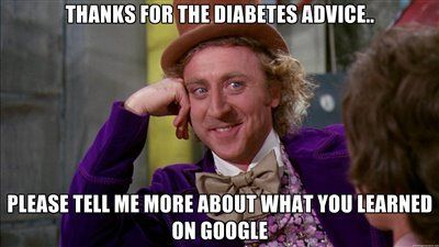"""I was in the mood for a good laugh today and came across some amusing Type 1 Diabetes memes. Enjoy! """"A day without laughter is a day wasted""""- Charlie Chaplin  Images taken from"""