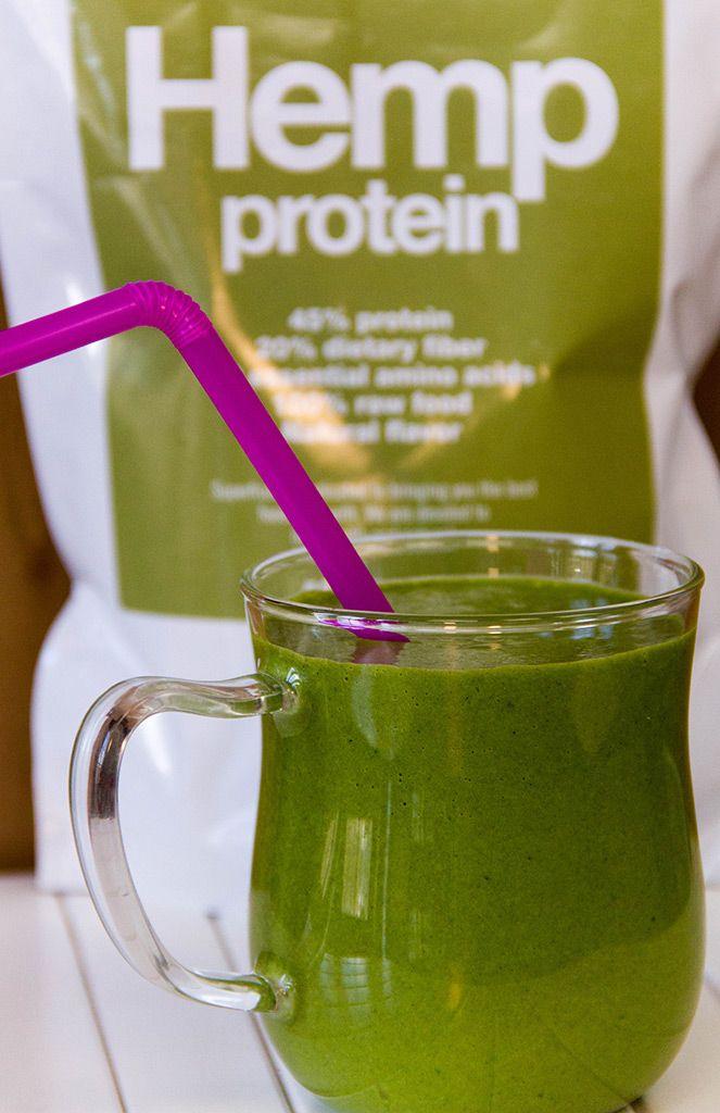 Натуральный протеиновый смузи