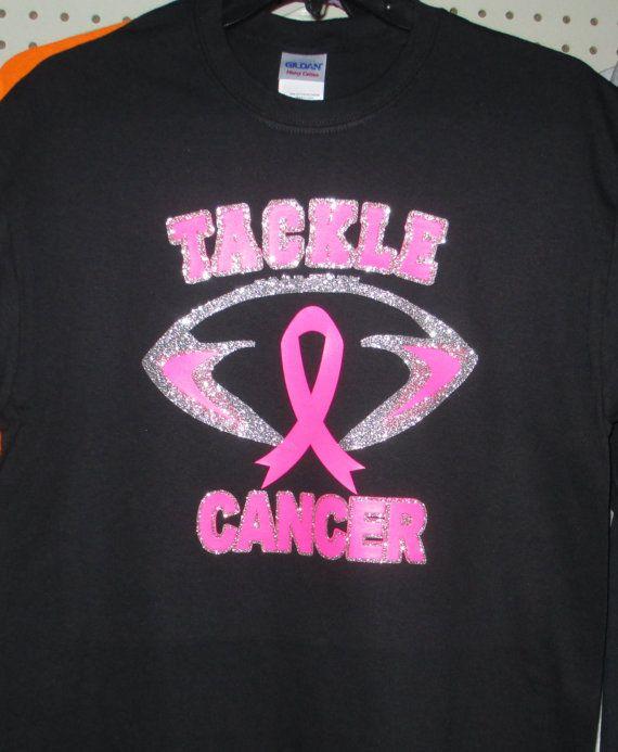 Tackle Breast Cancer Youth/'s T-Shirt Pink Awareness Football Shirts