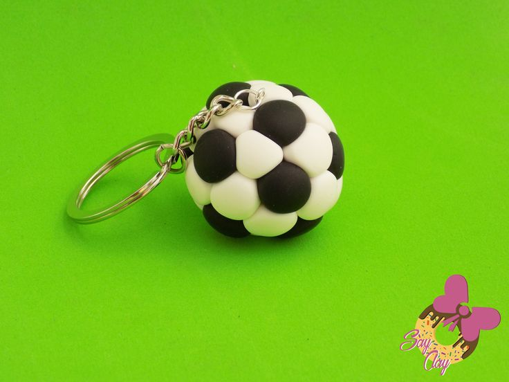 Polymer Clay Football By Say Clay
