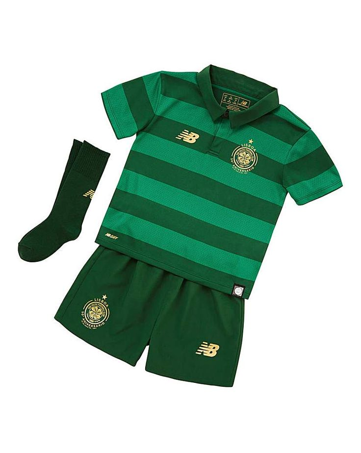 New Balance Celtic Boys Away Replica Kit: Let your little ones live the legend by putting them in this Celtic FC Away Infant Kit Set. In…
