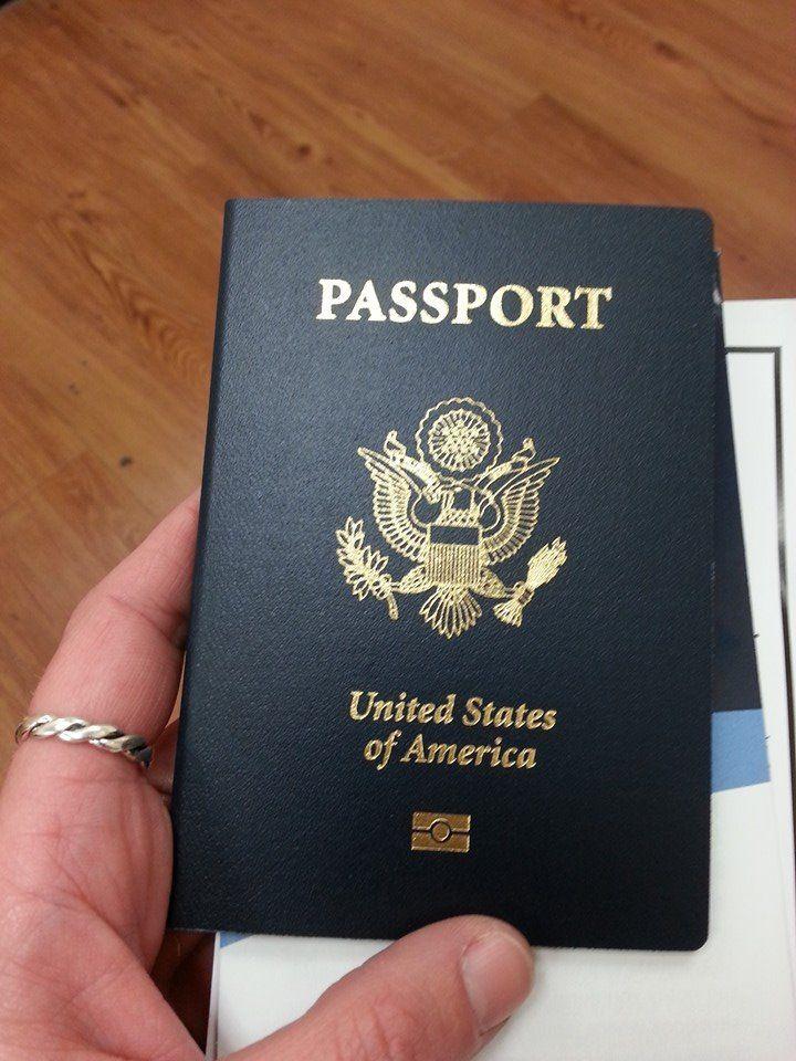 Bucket list fill my passport marriage certificate