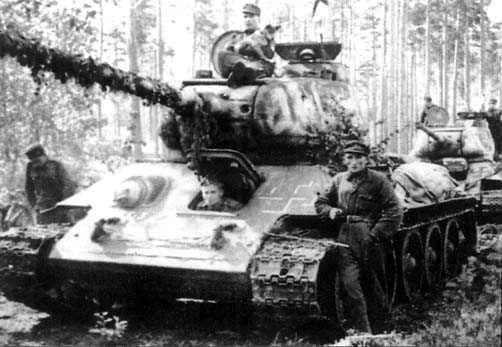 Finnish T-34-85.