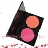 Trusa Blush & Pudra fata 2 culori Fraulein38 Peach N Pitch