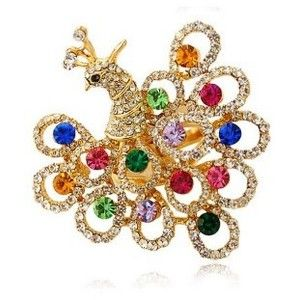 Fine Colorful SWAROVSKI Crystal Ring, Luxury Peacock Jewelry 83320082 - top engagement ring - high quality and inexpensive weddings rings - fine designer rings - Swarovski crystal rings - China wholesale gemstone ring - Swarovski ring wholesaler