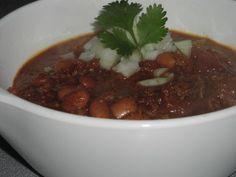 Day 2: Leftover Meatloaf Chili