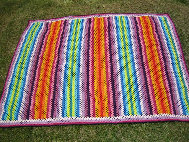 Granny Stripes blanket