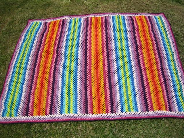 Granny Stripes blanket