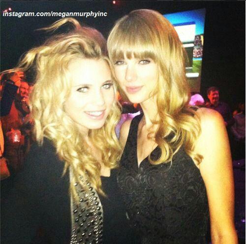 Megan and Taylor