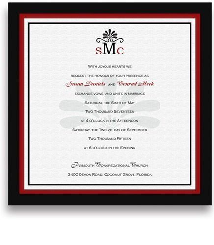145 Square Wedding Invitations - Monogram Pewter Gold Center Motif by WeddingPaperMasters.com. $379.90. Now you can have it all! We have created, at incredible prices & outstanding quality, more than 300 gorgeous collections consisting of over 6000 beautiful pieces that are perfectly coordinated together to capture your vision without compromise. No more mixing and matching or having to compromise your look. We can provide you with one piece or an entire collection in a...