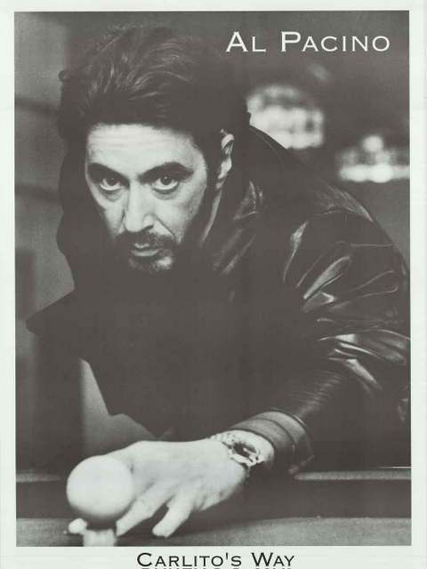 A great Carlito's Way movie poster! Al Pacino stars in Brian De Palma's bio-pic about the ex-con who tries to escape his criminal past. Ships fast. 25x34 inches. Need Poster Mounts..? bm7141