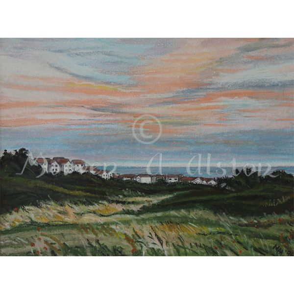 Dubford Delight by Morven A. Alston.  Artwork created in: Bridge of Don, Aberdeen
