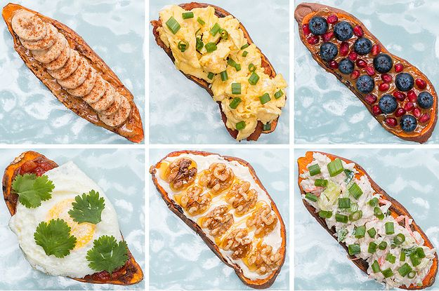 These Nine Sweet Potato Toasts Will Make You Feel Healthy And Happy