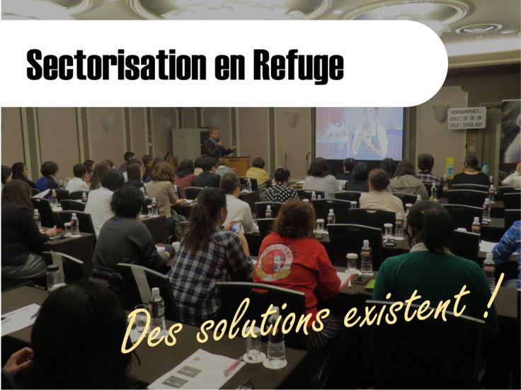 [BLOG] Sectorisation En Refuge : Des Solutions Existent ! - PROGRAMME PRIVILÈGE REFUGES