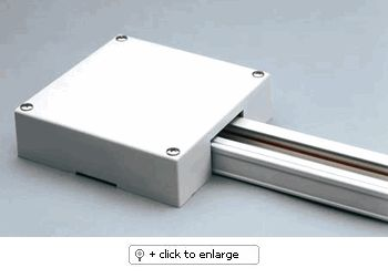 T-BAR POWER FEED End feed box for use with T-bar ceiling. (Power feed not included)  Regular price: $25.00  Sale price: $18.00