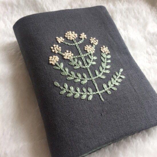 Embroidery, needlebook