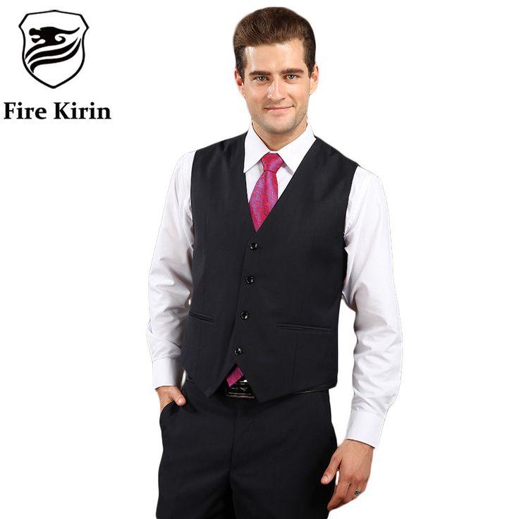 Men Suit Vest Classic Men Wedding Vest Slim Fit Grey Dark Blue Black Formal Vests For Men Casual Tuxedo Waistcoat