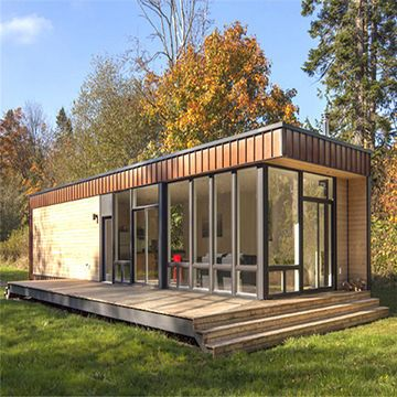 China 20/40ft Cheap Flat-pack 1 Bedroom Prefabricated Modular Houses Modern Prefab Homes for Sales